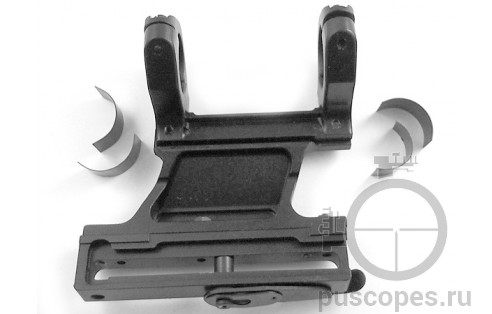 Кронштейн ВПО-102 с кольцами 26,5 мм и вкладышами 1 дюйм