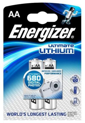 Батарея АА литиевая, 2 шт.
