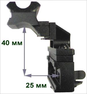 Измерение высоты бокового кронштейна